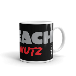Trump Impeachment Inquiry Mug | Impeach Deez Nuts Funny | Dark Coffee Mug
