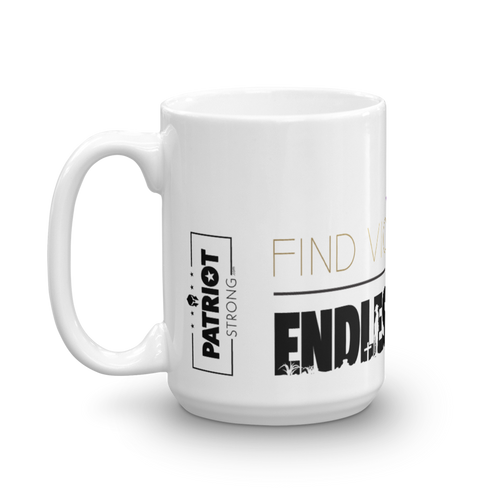 Stop Endless War Mug | Find Victory Over Endless War Coffee Mug | Light Color