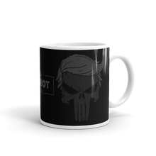 Load image into Gallery viewer, Trump Punisher Blacked Out Coffee Mug | Dark Color