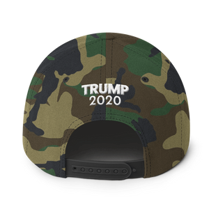 Ultimate MAGA Hat 3D Puff Embroidered In Camouflage | Various Colors