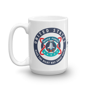 United States Space Force Coffee Mug | Light Color