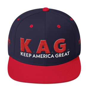 Ultimate Keep America Great Hat With Red 3D Puff Embroidery | Various Colors