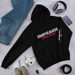 Impeach Deez Nuts Anti Trump Impeachment Hoodie | Dark Colors
