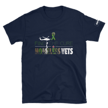 Load image into Gallery viewer, Find The Cure T-Shirt | Homeless Veterans | Dark Colors