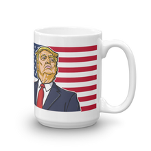 Load image into Gallery viewer, Trump Mug | IDGAF CAll The Media Trump Mug | Light Color