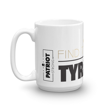 Load image into Gallery viewer, Against Tyranny Coffee Mug | Find The Cure Tyranny Mug | Light Color