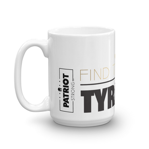 Against Tyranny Coffee Mug | Find The Cure Tyranny Mug | Light Color