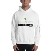 Load image into Gallery viewer, Find The Cure To Political Witch Hunts Hoodie | Light Colors
