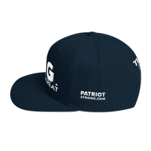 Load image into Gallery viewer, Ultimate Keep America Great Hat 3D Puff Embroidered In Dark Colors | White Embroidery