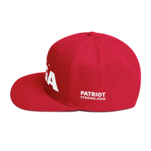 Load image into Gallery viewer, MAGA Hat With Stars & Spartan Helmet | Red