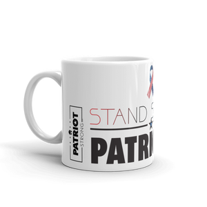 Patriotic Coffee Mug | Stand Strong Patriotism Mug | Light Color