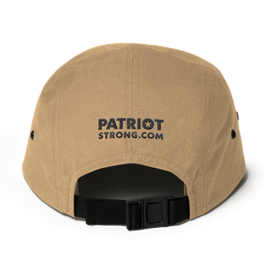 Patriot Strong Five Panel Low Profile Embroidered Cap | Light Colors