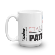 Load image into Gallery viewer, Patriotic Coffee Mug | Stand Strong Patriotism Mug | Light Color
