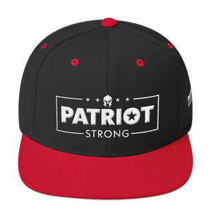 Patriot Strong 3D Puff Embroidered Camouflage Premium Hat | White Embroidery