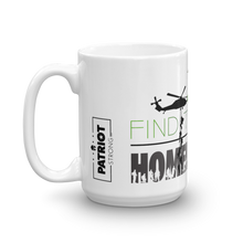 Load image into Gallery viewer, Homeless Veterans Mug | Find The Cure Homeless VETS Coffee Mug | Light Color