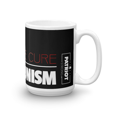 Load image into Gallery viewer, Anti Communist Coffee Mug | Find The Cure Communism Mug | Dark Color
