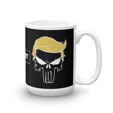 Load image into Gallery viewer, Trumpisher Coffee Mug | Outline On Dark Color