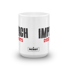 Load image into Gallery viewer, Anti-Impeachment Pro Trump Coffee Mug | Imeach Deez Nuts Impeachment Inquiry Protest #2 | Light Mugs