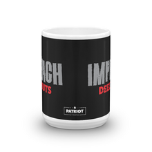 Load image into Gallery viewer, Anti-Impeachment Pro Trump Coffee Mug | Imeach Deez Nuts Impeachment Inquiry Protest #2 | Dark Mugs
