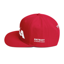 Load image into Gallery viewer, Ultimate MAGA Hat 3D Puff Embroidered In Camouflage | Various Colors