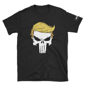Trump Punisher T-Shirt | Solid Skull | Dark Colors