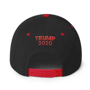 Ultimate MAGA Hat With Red 3D Puff Embroidery | Dark Colors