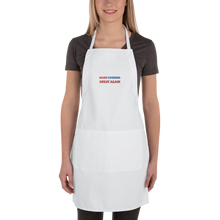 Load image into Gallery viewer, Make Cooking Great Again Apron | Black Or White
