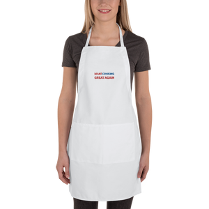 Make Cooking Great Again Apron | Black Or White