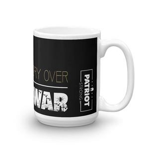 Stop Endless War Mug | Find Victory Over Endless War Coffee Mug | Dark Color