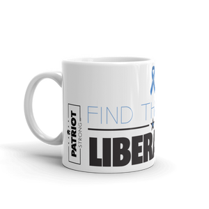 Anti Liberal Mug | Find The Cure Liberalism Coffee Mug | Light Color