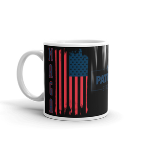 MAGA Flag Mug | Make America Great Again Coffee Mug | Dual Txt On Black