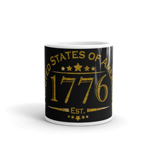 Load image into Gallery viewer, United States of America 1776 Mug | Dark Color