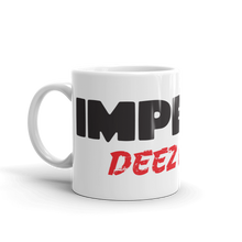 Load image into Gallery viewer, Trump Impeachment Inquiry Mug | Impeach Deez Nuts Funny | Light Coffee Mug