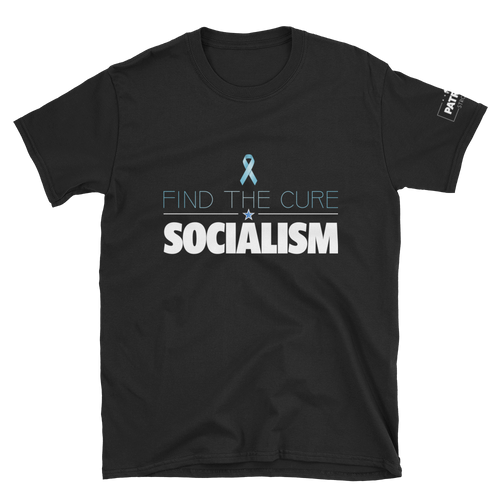 Find The Cure T-Shirt | Socialism | Dark Colors