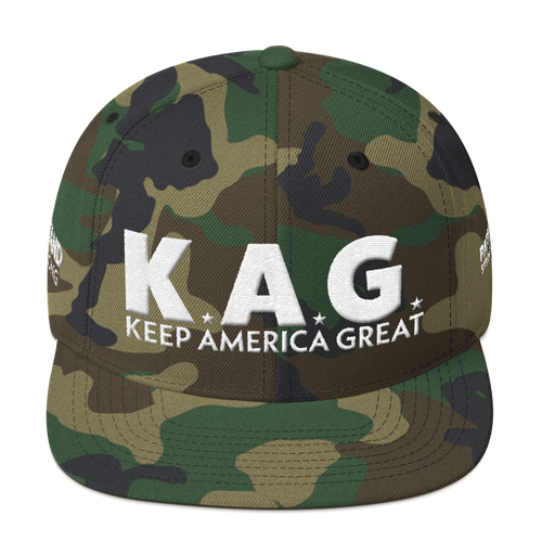 Ultimate Keep America Great Hat 3D Puff Embroidered In Camouflage | Various Colors