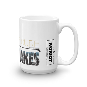 Cure Snowflakes Mug | Find The Cure Snowflakes Coffee Mug | Light Color