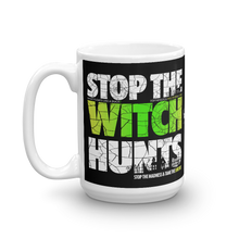 Load image into Gallery viewer, Stop The Political Witch Hunts Coffee Mug | Dark Colors