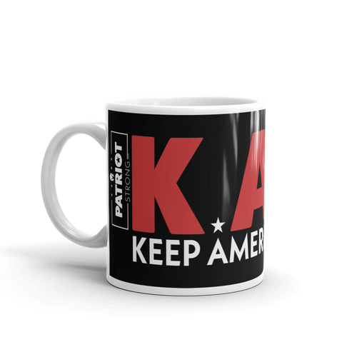 Keep America Great Mug | Pro Trump KAG 2020 Coffee Mug | Dark Color
