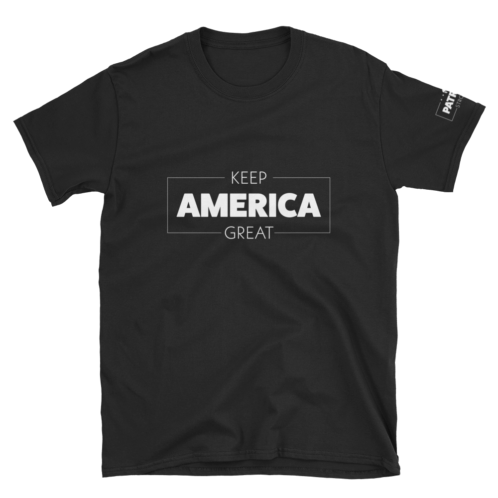 Keep America Great T-Shirt | Outlined | Dark Colors