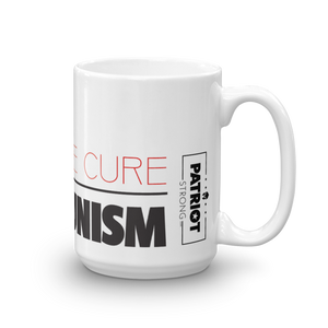 Anti Communist Coffee Mug | Find The Cure Communism Mug | Light Color