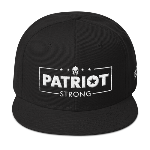 Patriot Strong 3D Puff Embroidered Premium Hat | Dark Colors