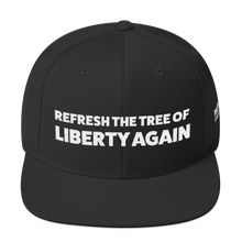 Load image into Gallery viewer, Refresh The Tree Of Liberty Again Hat | White Embroidery On Various Colors