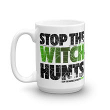 Load image into Gallery viewer, Stop The Political Witch Hunts Coffee Mug | Light Colors