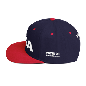 Ultimate MAGA Hat 3D Puff Embroidered In Red | Various Colors