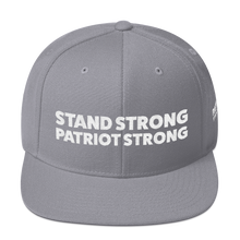Load image into Gallery viewer, Stand Strong Patriot Strong Hat | White Embroidery On Various Colors