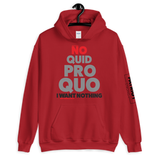 Load image into Gallery viewer, No Quid Pro Quo Trump Anti-Impeachment Hoodie |  Light Colors