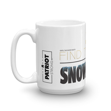 Load image into Gallery viewer, Cure Snowflakes Mug | Find The Cure Snowflakes Coffee Mug | Light Color