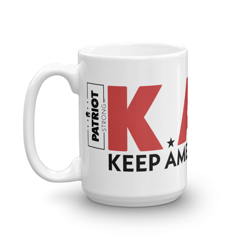 Keep America Great Mug | Pro Trump KAG 2020 Coffee Mug | Light Color