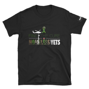 Find The Cure T-Shirt | Homeless Veterans | Dark Colors