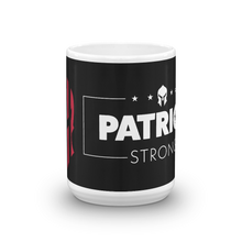 Load image into Gallery viewer, American Spartan Flag Patriot Strong Coffee Mug | Dark Color